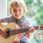 At what age can my child start playing guitar?