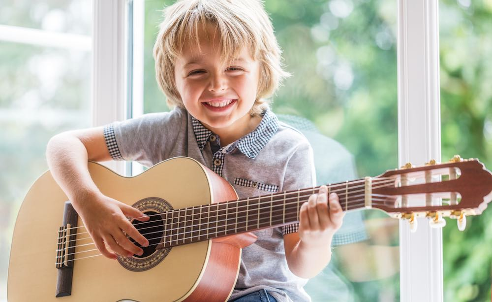 At what age can my child start playing guitar? | Liam James Music ...